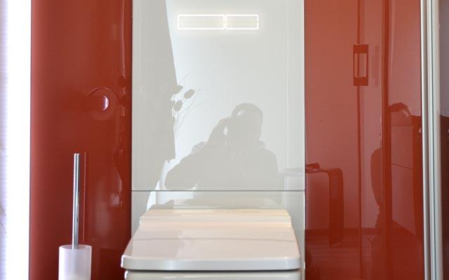 Mobibad Touch WC Spülung